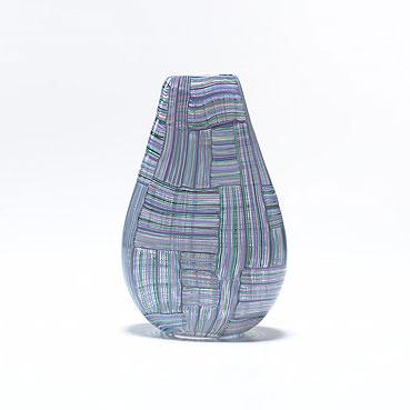 Wright-Mosaico Tessuto vase