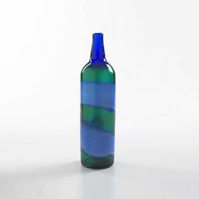 A Fasce Orizzontali bottle by Wright