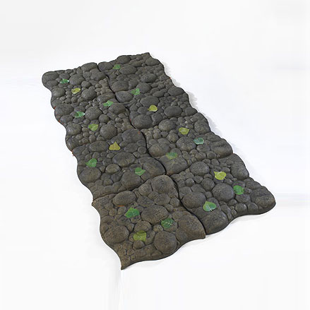Pave Piuma floor panels, set of eight