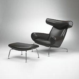 Ox chair/ottoman