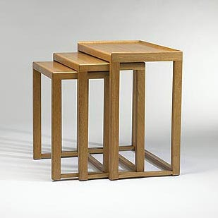 Nesting tables by Wright