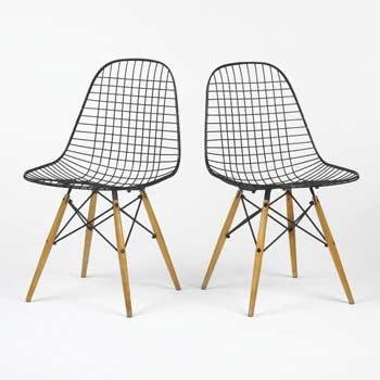 Dowel leg chairs
