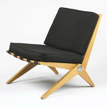 Scissor lounge chair model 92