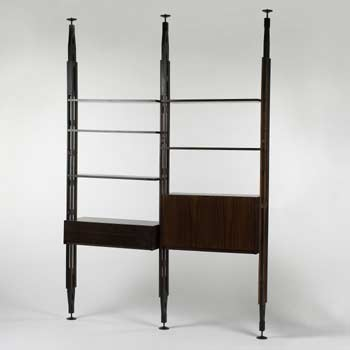 Shelving system by Wright