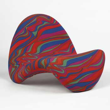 F 577 Tongue chair