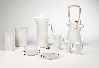 Ironstone dinnerware / coffee service