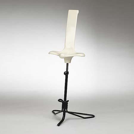 Appoggio stool by Wright