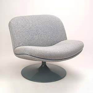Lounge chair 'Swivel Chair' by Quittenbaum