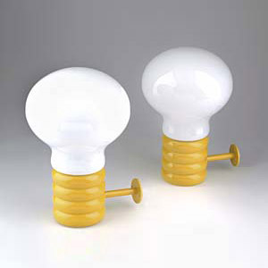 Wandlampen 'Glühbirne'