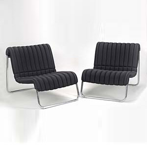Lounge chairs 'Due Cavalli' (2)