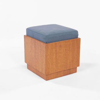 Usonian hassock by Wright
