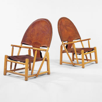 Lounge chairs by Wright