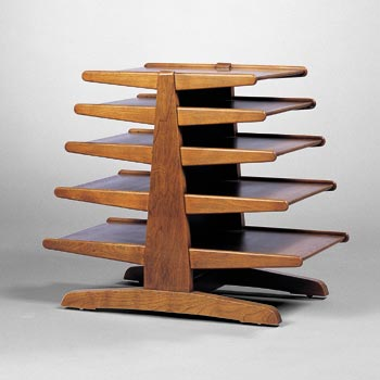 Magazine stand by Wright