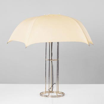 Umbrella lamp by Wright