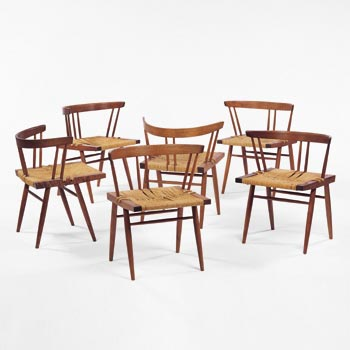 Grass Seated dining chairs
