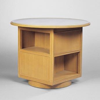 Wright-Swiveling bookstand