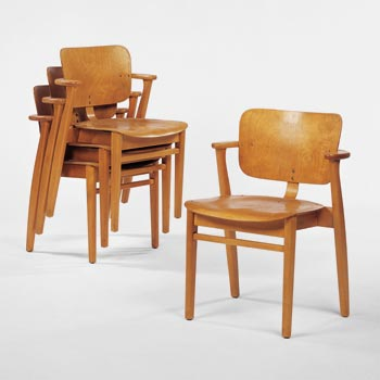 Domus stacking chairs