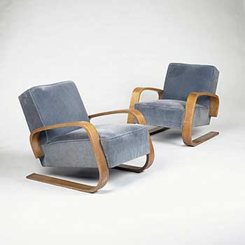 Lounge chairs (model 37)