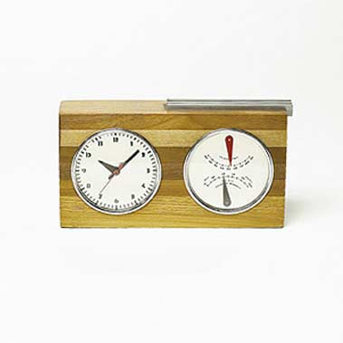 Table clock by Wright
