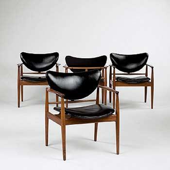 Armchairs (model 48)