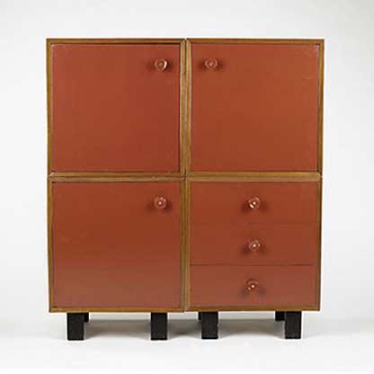 Four piece cabinet