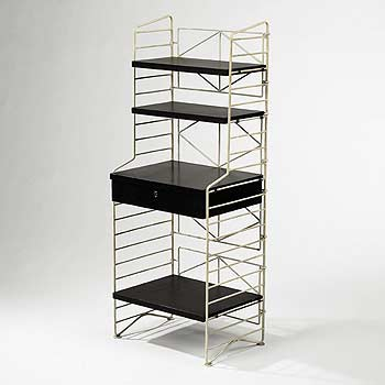 Shelving unit by Wright