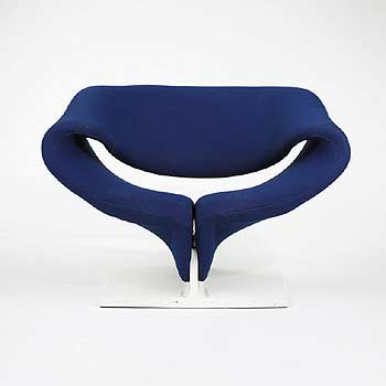 F 582 Ribbon Chair by Wright