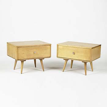 Planner Group end tables by Wright