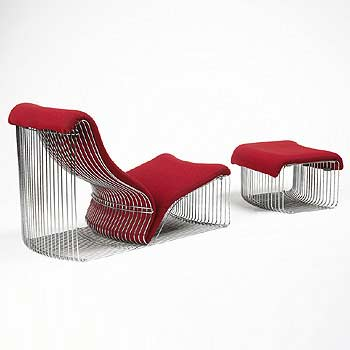 Steelstyle chaise
