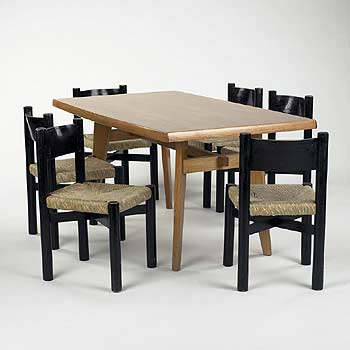 Dining table/chairs von Wright