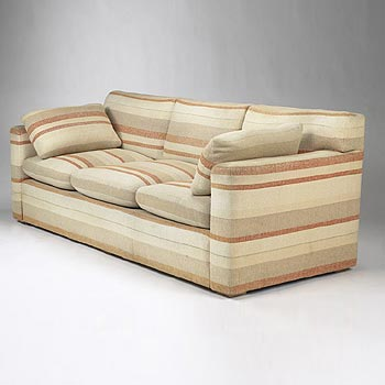 Sofa (Joseph Block residence) by Wright