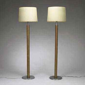 Floor lamps for the Joseph Block residen