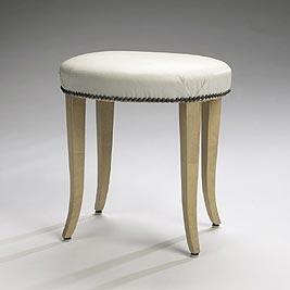 Vanity stool (Joseph Block residence)
