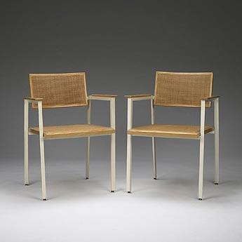 Steelframe armchair