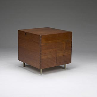 Cube bar cabinet by Wright