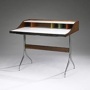 Swag Leg desk by Wright