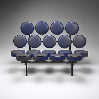 Marshmallow sofa de Wright