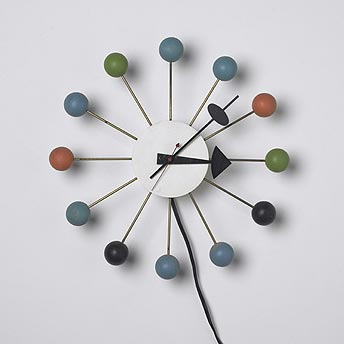 Ball clock de Wright