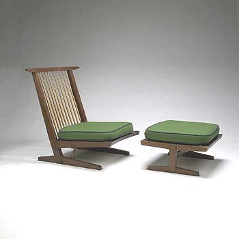 Conoid lounge/ottoman