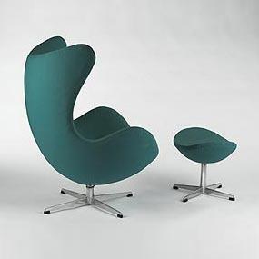 Egg chair/ottoman