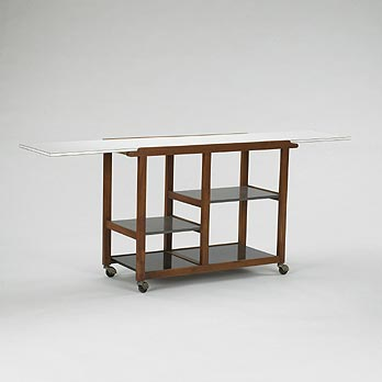 Serving cart by Wright