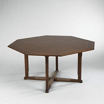 Game table by Wright