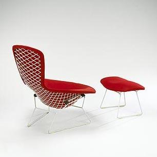 Bird chair/ottoman