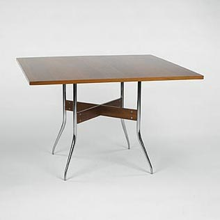 Swag Leg dining table