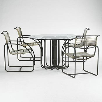 Dining table/chairs (4)