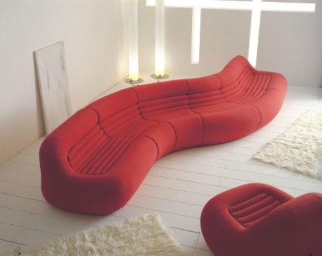 Forum lo voglio rotondo rosso originale - Divano color prugna ...