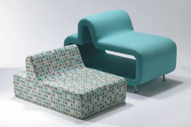 Kids lounge chair w/cubby- Ark-type @ Architonic from architonic.com