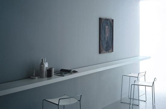 Tavolo cucina con sgabelli design della casa