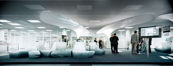 "Architonic Concept Space I: Die ""Arctic Lounge"" 