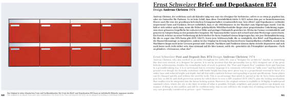 Helvetian Heroes: enduring Swiss design | Novedades